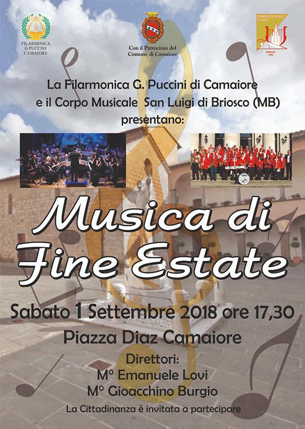 Concerto Settembre Camaiore (LU)