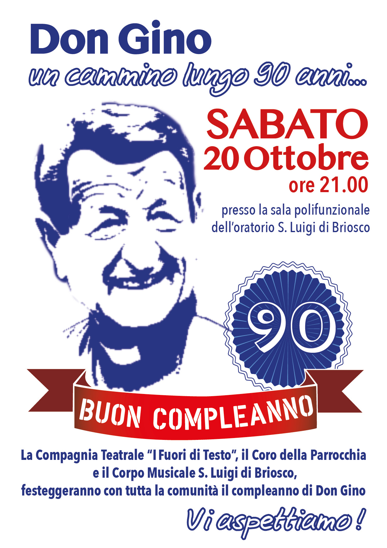Compleanno Don Gino